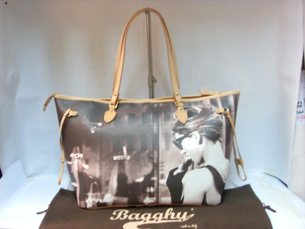 Borse firmate : Dettagli su borsa bagghy donna per audrey hepburn