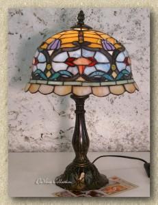 LAMPADA TIFFANY LIBERTY lamps lampade Galle' -70% produttori : (Baveno)