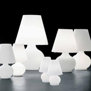 Lampade da tavolo miste foscarini flos murano due - Artemide lampade tavolo ...