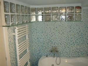 Parete in vetrocemento per bagno cieco vetrocemento in bagno e