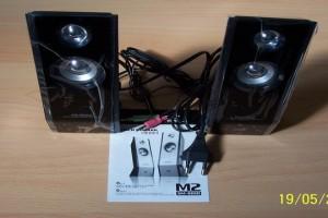 Eleganti casse acustiche amplificate per pc muses unique design latina - Casse acustiche design ...
