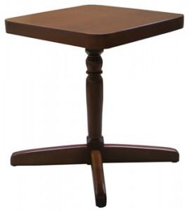 Tavolo in legno in arte povera 80 x80 con piantana - Tavoli allungabili in legno arte povera ...