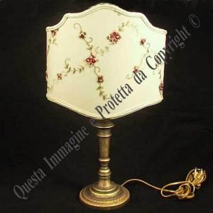Lampada da tavolo stile antico verona - Cappelli per lampade da tavolo ...