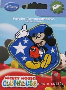 Applicazione termoadesiva Topolino Mickey Mouse 1