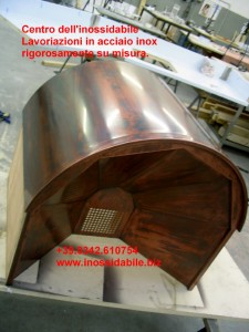 Cappa inox per arredo cucina morbegno for Scatolati in acciaio inox