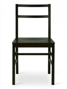 Sedia mod gaia sedile legno wenge 39 napoli for Gaia case in legno