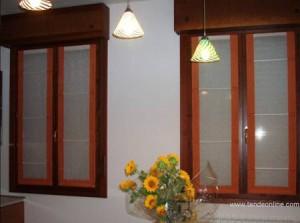 Tende da interno, stecche e bordi a vetro : (Padova)