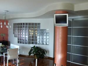 pareti divisorie in vetromattoni : Vetromattone o Vetrocemento : (Due Carrare)
