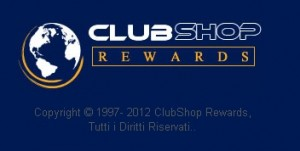 CLUBSHOP REWARDS