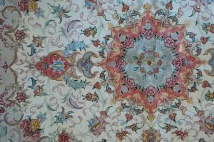 Tappeto persiano tabriz extra fine udine - Pulizia tappeto persiano ...