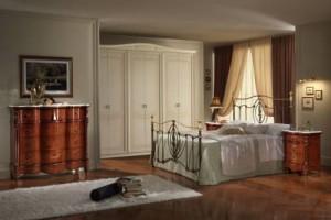Camera da letto classica buona villaricca for Piemme arredamenti