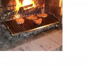 Griglia per barbecue in acciaio inox 304 5x39 for Griglia per barbecue bricoman