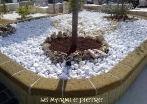 Lavorazioni in pietra gallicano nel lazio - Ciottoli bianchi da giardino ...