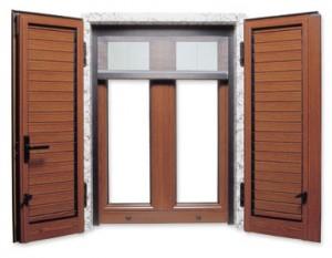 Infissi in legno alluminio serie emblema sant 39 anastasia - Finestre in legno prezzo ...