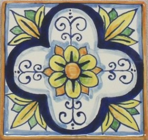 Piastrelle decorate mattonelle decorate pannelli - Ceramiche decorative ...