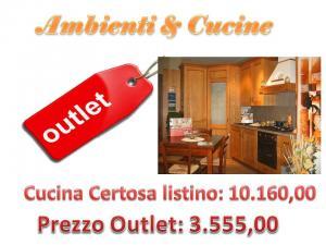 Outlet centro cucine stosa ambienti e cucine capistrello for Outlet cucine abruzzo