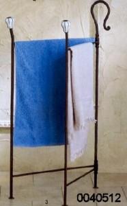 Porta asciugamani libro roma for Porta a libro in ferro