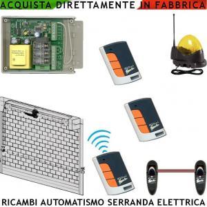 Elettronica ricambio saracinesca centralina fotocel - Serranda elettrica casa ...