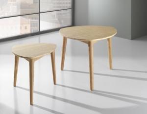 Set 2 tavolino tomasucci woodline kall 1564 pesaro for Poltrone relax pesaro