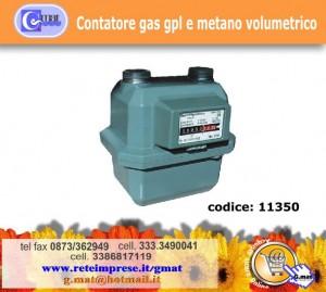Contatore gas gpl e metano volumetrico vasto for Armadio contatore gas