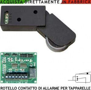 Rotello marrone antifurto tapparella sensore serranda e - Serranda elettrica casa ...