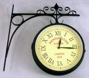 Orologio da parete doppio messina for Orologi da parete vintage