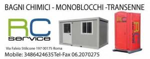 Rc service noleggio bagni chimici e transenne roma - Noleggio bagni chimici roma ...