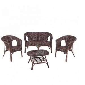 Salottino 4pz divano 2 poltrone tavolo x esterno e for Divano x esterno