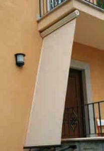 Tenda da sole per balconi cassonata : (Roma)