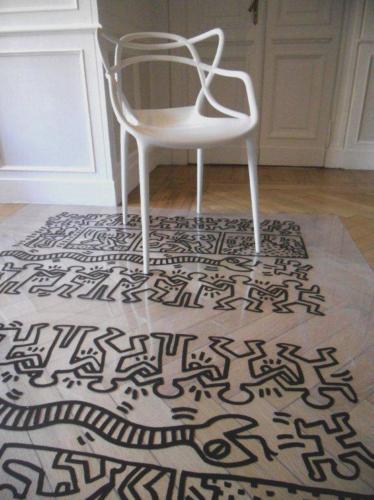 Protezione pavimenti legno tavoli in legno marmo marmi - Tappeti trasparenti per parquet ...