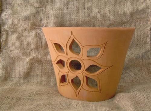 Applique in terracotta lavorata a mano : cagliari