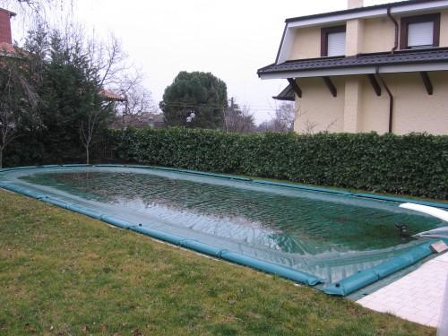 Telone per copertura invernale piscina settimo torinese - Riparazione telo piscina ...