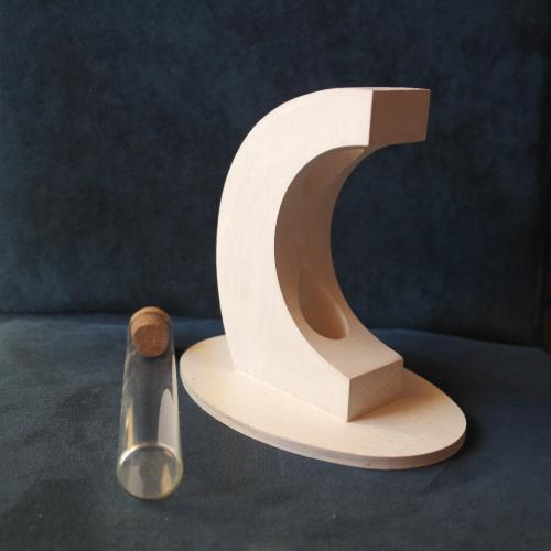Bomboniera in legno portafiori e o portaconfetti l 39 aquila for Portafiori in legno