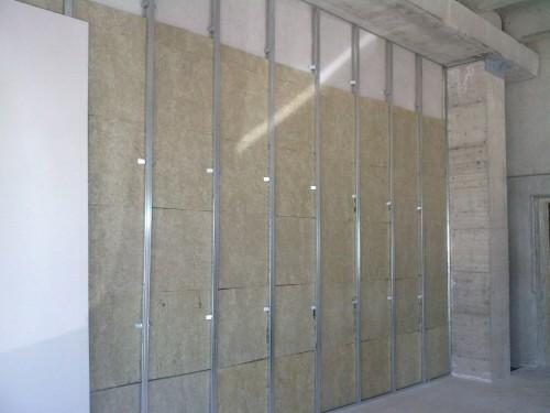 Parete In Cartongesso Con Lana Di Roccia: Isolamento acustico isolante per pareti pannelli share ...