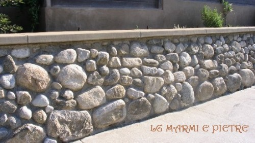 Lavorazioni in pietra gallicano nel lazio - Muri da giardino ...