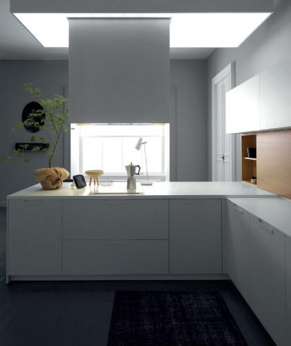 Cucina moderna da esposizione k10a pordenone - Cucine a ferro di cavallo ...