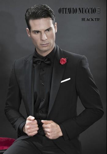Total Black Uomo Matrimonio : Abito uomo total black u modelli alla moda di abiti