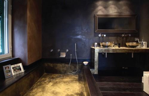 Bagno resina genova - Resina per pareti bagno ...