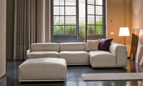 Divani doimo sofas lumire olbia for Divani in pelle poltrone e sofa