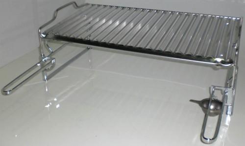 Griglia per barbecue e caminetti in acciaio inox 304 for Griglia per barbecue bricoman