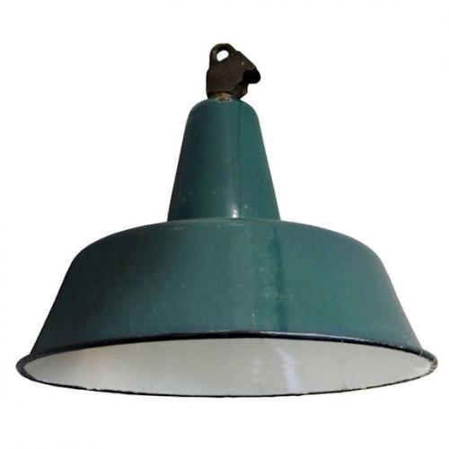 Lampada industriale Vintage anni 60 : (Albano Laziale)