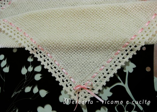 Scarpette e copertina in lana per neonata   (Grottaglie) af9fb567c64e