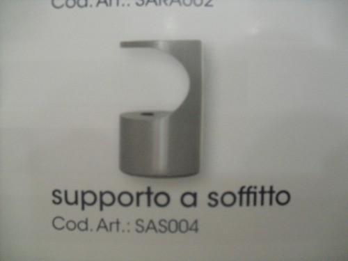 SUPPLEMENTO: SUPPORTI A SOFFITTO PER BASTONI ACCIAIO MM. 20 : (Porto ...