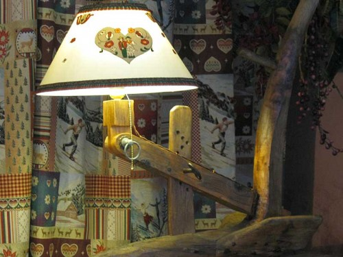 LAMPADE & LAMPADARI : (Oulx)