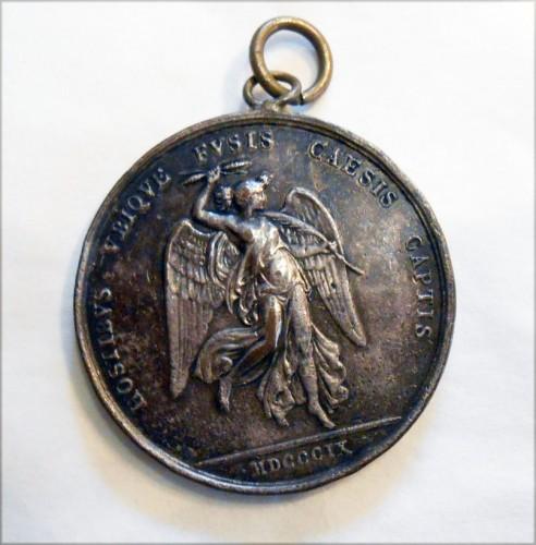 Battaglia di wagram 1809 medaglia napoleonica milano for Battaglia di milano