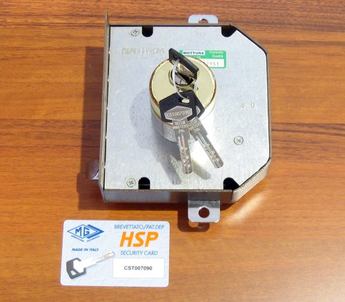 Trasformazioni serrature di sicurezza da doppia mappa a for Estrarre chiave rotta da cilindro
