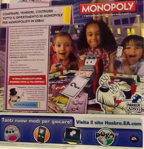 Monopoly bancomatto roma for Come prendere in prestito denaro per comprare terreni