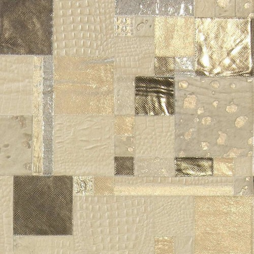 TAPPETO PATCHWORK IN PELLE CLASSIC, 240 x 120 : (Padova)