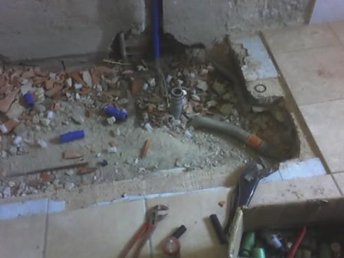 Demolizione vasca e montaggio piatto doccia : minerbio