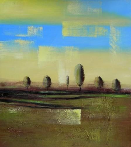 Dipinti a olio paesaggi roma for Dipinti ad olio moderni